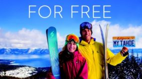 """""""Plates for Powder"""" is back: Buy A Tahoe License Plate And Ski For Free"""